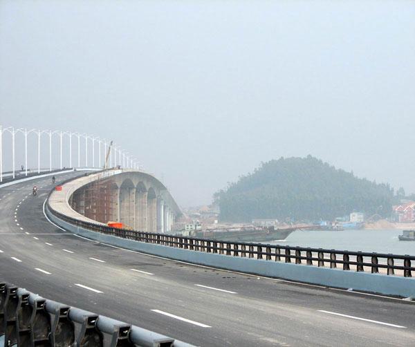 厦门同安湾大桥工程